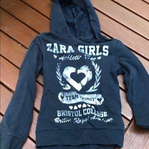 Zara Shirts & Tops - Zara girls hoodie.